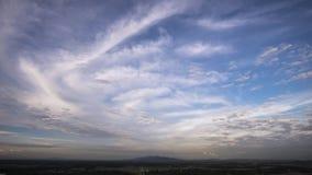 Bakgrund för blå sky och oklarhets Royaltyfri Fotografi