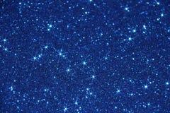 Bakgrund för blå stjärna - materielfoto Arkivfoton