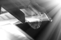 Bakgrund för bokeh för rengöringsduk för nattspindel` s Arkivfoto