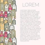 Bakgrund för broschyren, broschyr Royaltyfri Foto