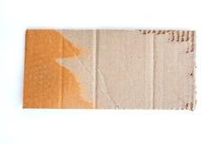 Bakgrund för Brown wellpappark royaltyfria bilder