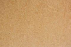 Bakgrund för brunt papper Royaltyfria Bilder