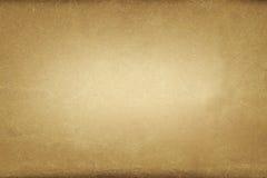 Bakgrund för brunt papper för Grunge beige, pappers- textur Arkivbilder