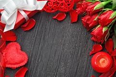 Bakgrund för dag för valentin` s Royaltyfri Foto