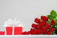 Bakgrund för dag för valentin` s Royaltyfria Foton