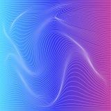 Bakgrund för deformering för vektorfärgband royaltyfri illustrationer