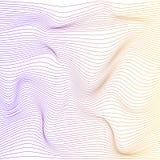Bakgrund för deformering för vektorfärgband stock illustrationer