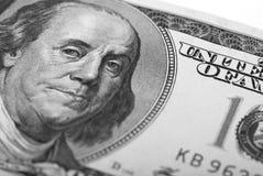 Bakgrund för dollarsedelpengar Fotografering för Bildbyråer