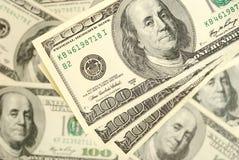 Bakgrund för dollarsedelpengar Royaltyfria Bilder