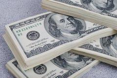 Bakgrund för dollarsedelpengar Royaltyfria Foton