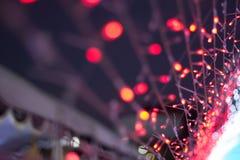 Bakgrund för elektricitetsabstrakt begreppfärg Royaltyfri Foto