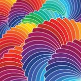 Bakgrund för färghjul. Vektorillustration Royaltyfri Bild