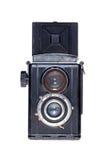 Bakgrund för film för tappning analog isolerad kamera Royaltyfri Foto