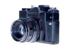 Bakgrund för film för tappning analog isolerad kamera Royaltyfria Bilder
