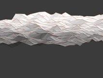 Bakgrund för former för modernt vetenskapsabstrakt begrepp polygonal geometrisk Arkivbild