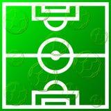 Bakgrund för fotbollboll Fotografering för Bildbyråer