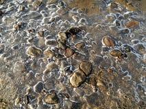 Bakgrund för fragment för isstenar Royaltyfria Foton