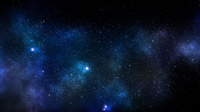 Bakgrund för galaxutrymmenebulosa Royaltyfri Fotografi