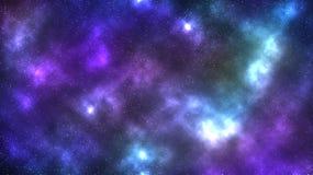 Bakgrund för galaxutrymmenebulosa Royaltyfri Foto