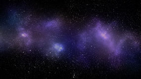 Bakgrund för galaxutrymmenebulosa royaltyfria bilder