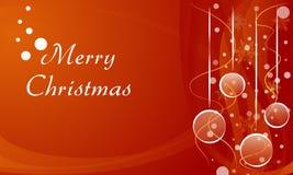 Bakgrund för glad jul Arkivbild