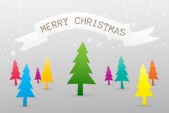 Bakgrund för glad jul Arkivbilder