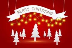 Bakgrund för glad jul Royaltyfri Bild