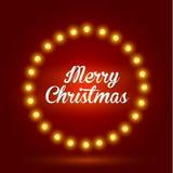 Bakgrund för glad jul Royaltyfria Bilder
