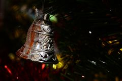 Bakgrund för glad jul för brosur och baner Arkivbilder