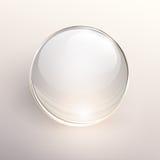 Bakgrund för Glass boll Arkivbild