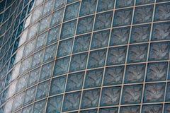 Bakgrund för Glass tegelsten Arkivbild