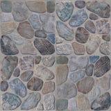 Gråna stenväggbakgrund Arkivbilder