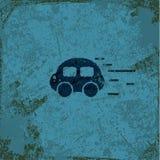 Bakgrund för grunge för biltappningabstrakt begrepp Royaltyfri Bild