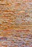 Bakgrund för grunge för textur för vägg för röd tegelsten, vägg för röd tegelsten Arkivfoton