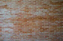 Bakgrund för grunge för textur för vägg för röd tegelsten Arkivfoton