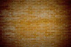Bakgrund för grunge för textur för vägg för röd tegelsten Royaltyfri Fotografi