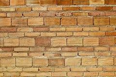 Bakgrund för grunge för textur för vägg för röd tegelsten till inredesignen Royaltyfri Foto