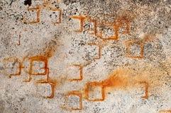 Bakgrund för Grunge väggtextur Fotografering för Bildbyråer