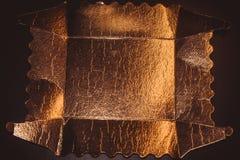 Bakgrund för guld- folie Arkivfoton