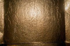 Bakgrund för guld- folie Royaltyfri Foto