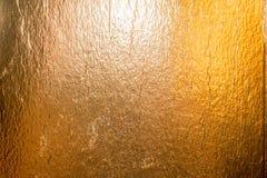 Bakgrund för guld- folie Royaltyfri Fotografi