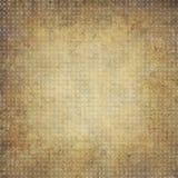 Bakgrund för guld- ockra för tappning geometrisk med cirklar Royaltyfri Foto