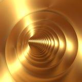 Bakgrund för guldvirvelabstrakt begrepp Arkivbilder