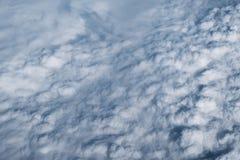Bakgrund för högst moln royaltyfri foto