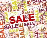 Bakgrund för höstförsäljningstext Royaltyfri Illustrationer