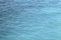 Bakgrund för havvattentextur surface vatten för hav Fotografering för Bildbyråer