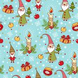 Bakgrund för jul och för nytt år. Arkivfoton