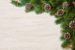 Bakgrund för jul och för nytt år Royaltyfri Fotografi