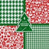 Bakgrund för jul och för nytt år Royaltyfria Bilder