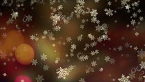 Bakgrund för jul och för nytt år lager videofilmer